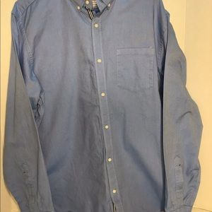 Men's Banana Republic blue long sleeve shirt XL